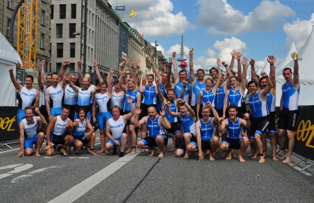 Philips Triathlon Team Sprint 2014